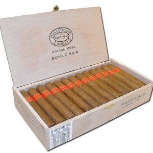 Cigar Partagas D No 4 hộp 25 điếu