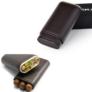 Bao da đựng Cigar (xì gà) Xikar chất liệu da cao cấp chính hãng