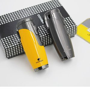 Bật lửa Cohiba chính hãng loại 3 tia lửa khò có thiết bị đục Cigar