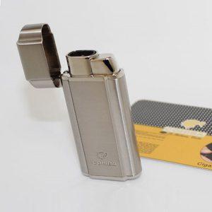 Bật lửa khò hút Cigar (xì gà) Cohiba 2 tia lửa có thiết bị đục Cigar