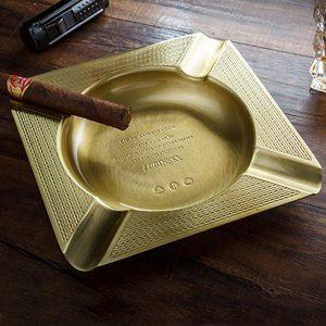 Gạt tàn xì gà (cigar) 4 điếu chính hãng Lubinski