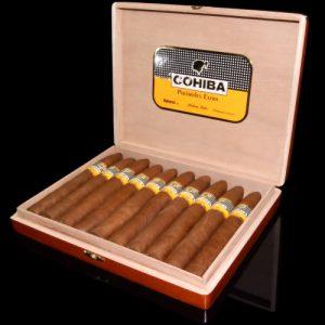 Cigar Cohiba Piramides Extra hộp 10 điếu