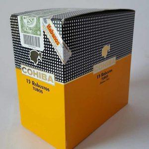 Cigar Cohiba Robustos tubos hộp 15 điếu