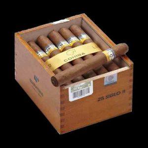 Cigar Cohiba Siglo II hộp 25 điếu