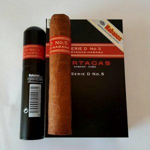 Cigar PARTAGAS SERIE D No.5 Tubos