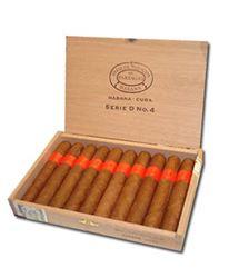 Cigar Partagas Serie D4 hộp 10 điếu