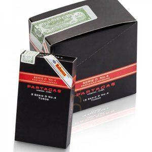 Cigar Partagas D No 4 Tubos hộp 15 điếu