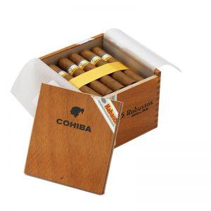 Cigar Cohiba Robustos hộp 25 điếu