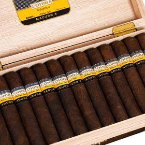 Cigar Cohiba Maduro 5 Magicos hộp 25 điếu