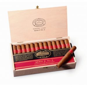 Cigar Partagas E No2 hộp 25 điếu