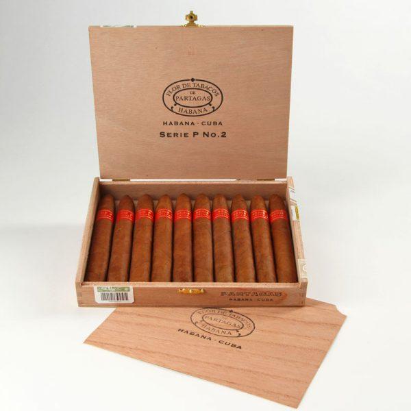 Cigar Partagas P No 2 hộp 10 điếu