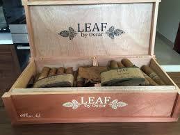 Cigar Leaf By Oscar Hộp Gỗ 20 điếu